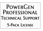 Technical Support - PowerGen Professional 5-Pack
