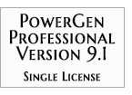 PowerGen Professional - Single License